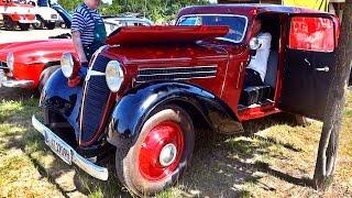 Adler Trumpf Junior *Historic Kübelwagen Car* Engine Sound