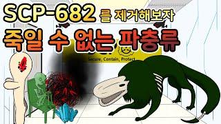[SCP-682 제거 실험] 죽일 수 없는 파충류를 제거해보자
