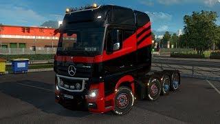 Euro Truck Simulator 2 - Astazi .... Mercedes Actros