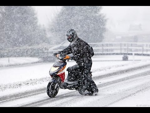 Как готовить скутер к зиме