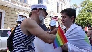 «Марш рівності» в Одесі скоротили  Ризики сутичок із націоналістами