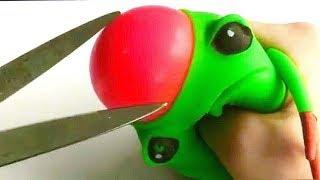 Stressballen openknippen! (Wat zit er in een stressbal?)