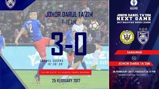 Video JDT FC  vs T-Team FC (3-0) | Full 2nd Half download MP3, 3GP, MP4, WEBM, AVI, FLV April 2018