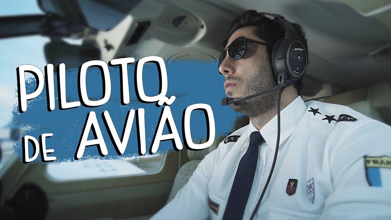 Piloto de Avião - DESCONFINADOS