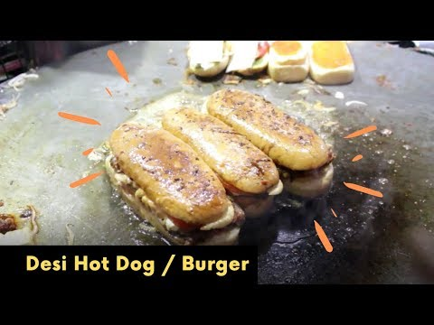 Desi Hot Dog & Burger, Krishna Nagar, Delhi Street Food