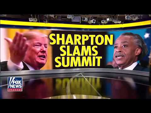 'He Should Be Ashamed': Sharpton Blasted for Knocking Trump's Young Black Leadership Summit