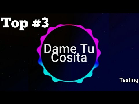 Top 3 Dam Tu Cosita Ringtone Free Mp3 download | Ringtones Official