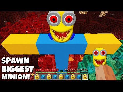 This is a SUPER SECRET WAY TO SPAWN BIGGEST SCRAY MINION in Minecraft TITAN