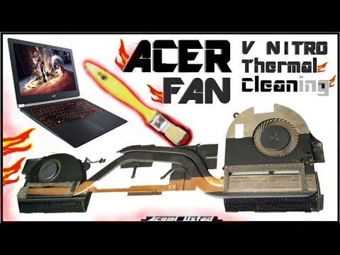 Acer Aspire Cleaning Fan V17 V15 Temizleme Ve Macun