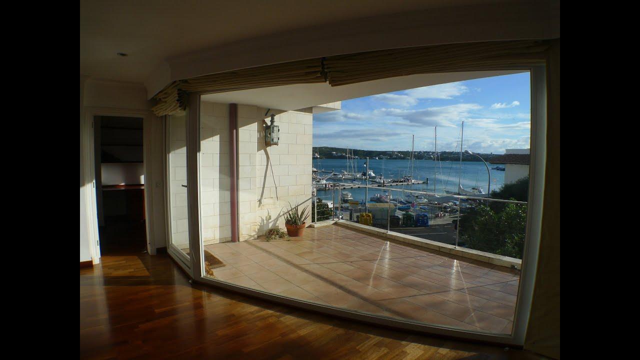 casas en menorca piso con vistas al mar en puerto mah n