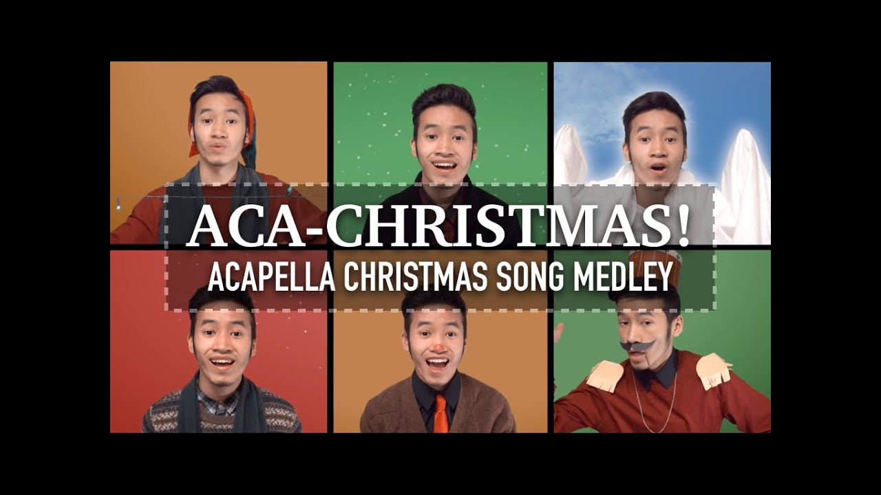 acapella christmas medley 30 songs indy dang youtube