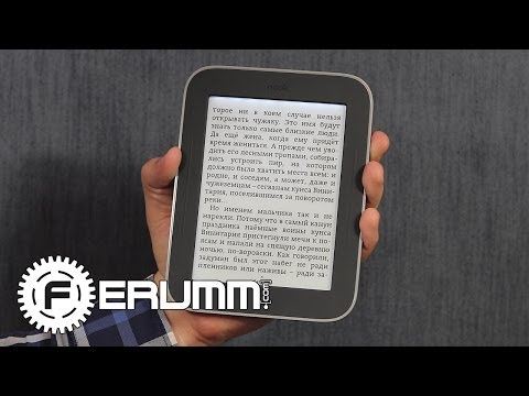 Barnes & Noble Nook The Simple Touch Reader with Glow Light обзор электронной книги от FERUMM.COM