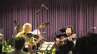 Gugur Bunga  Ismail Marzuki Robert Brown violin Lianto Tjahjoputro Guitar