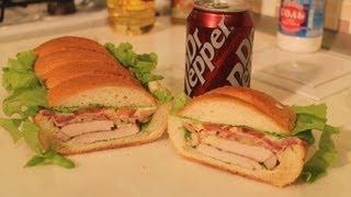 как сделать сэндвич как в subway