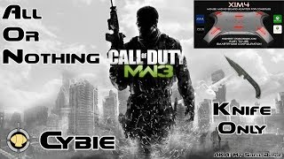 All or Nothing - Knives Only Rampage - XIM 4 Modern Warfare 3 Gameplay
