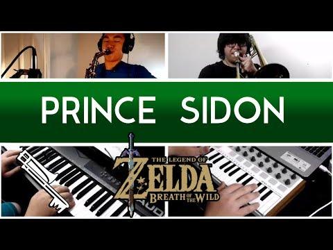 Zelda Breath of the Wild - Prince Sidon : Jazz Cover ‖ Eric L. & sladjkf