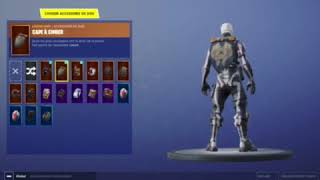 I sell this account fortnite 50 psn (skeleton skin and mowers)