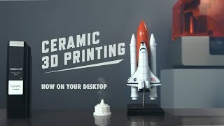 Introducing Ceramic Resin: Ceramic 3D Printing On Your Desktop