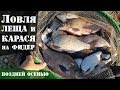 Ловля леща и карася на фидер осенью Супер рыбалка Рыболовный дневник mp3