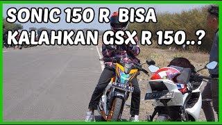 Drag Sonic 150 R Kalahkan GSX R 150 😱