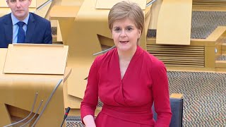 Nicola Sturgeon reveals Scotland will return to tiers from end of April