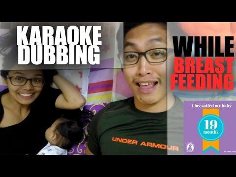 ALDUBBING KARAOKE OCEAN DEEP | Exclusive Breastfeeding 19 Months and Going Strong !!!