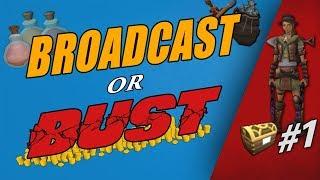 Broadcast or BUST!? [Runescape 3] 250 Elite Clues - Episode #1