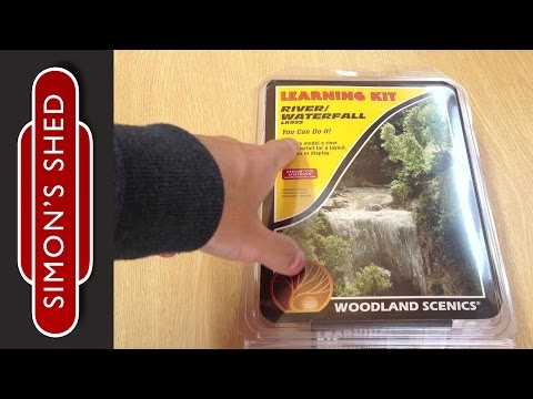 River / waterfall learning kit by Woodland Scenics Review