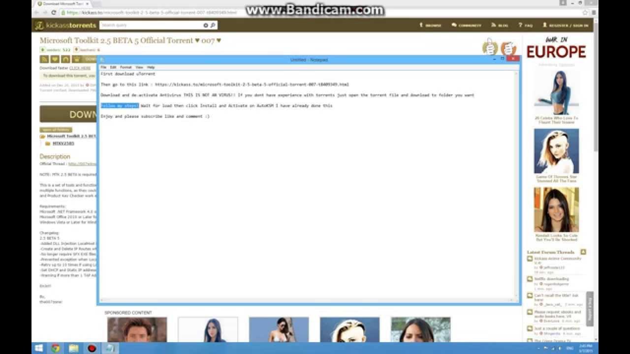 windows toolkit 2.5 beta 5 download for pc