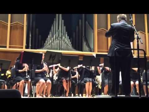 2015 Spring Concert- Los Coyotes Middle School Band - Advan
