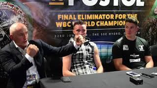 JOSH TAYLOR DEFEATS VIKTOR POSTOL - *FULL* POST FIGHT PRESS CONFERENCE / TAYLOR-POSTOL