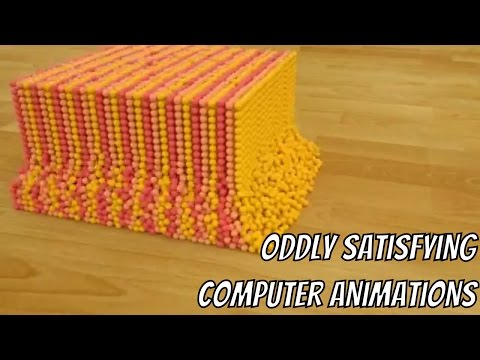 Oddly Satisfying Computer Animations