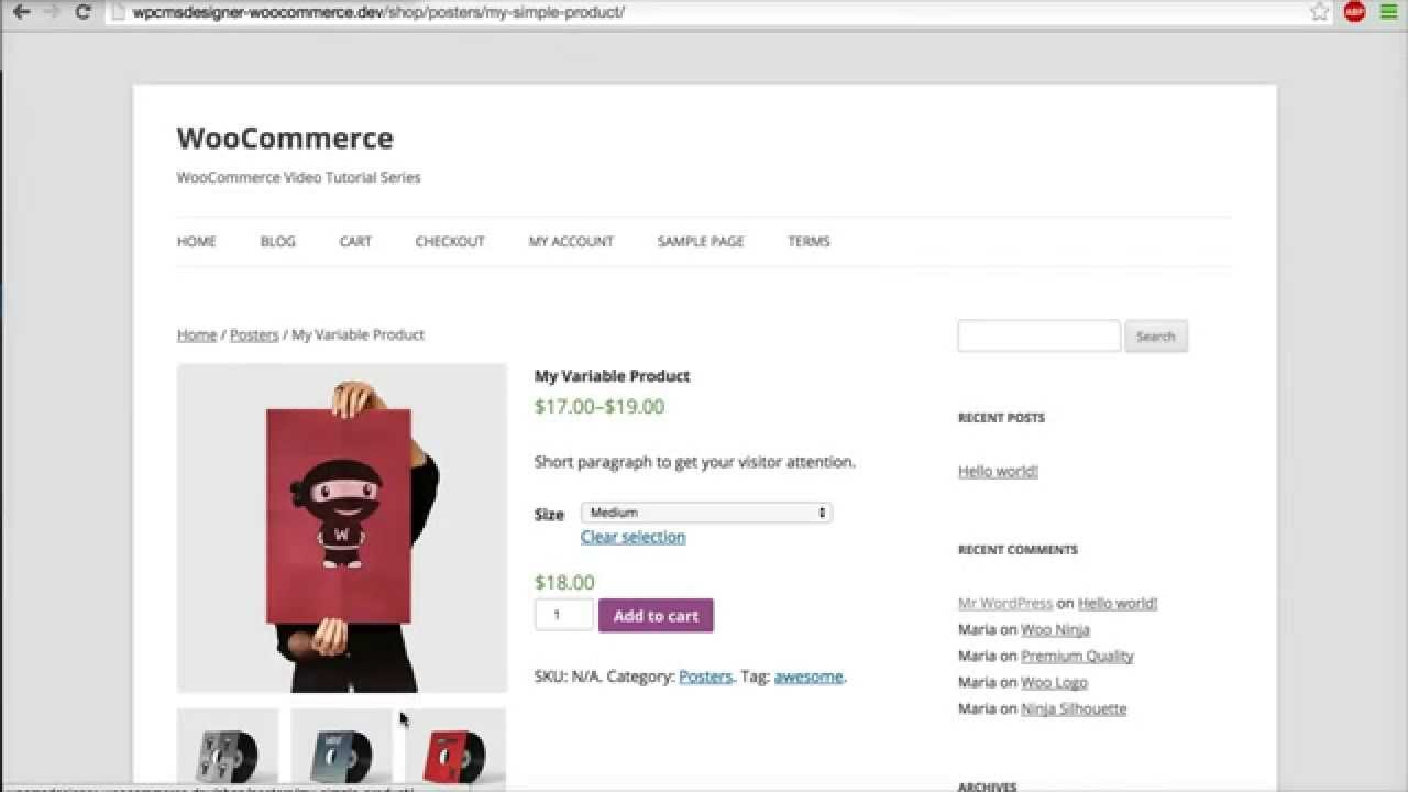 14 how to change product images size woocommerce tutorial youtube