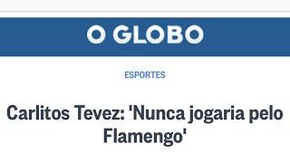 Tevez e Felipe Melo no Flamengo. Verdade ou mentira? Sorteio de bola autografada pelos jogadores!