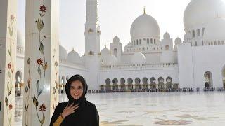 Abu Dhabi e Dubai: a famosa Mesquita e Burj Al Arab à noite!