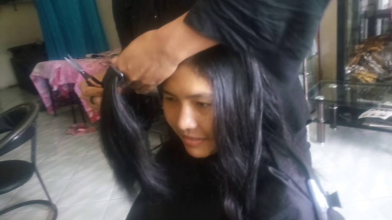 Potong Rambut Segi Panjang Youtube