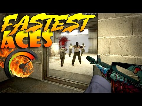 CS:GO - FASTEST Aces! #2