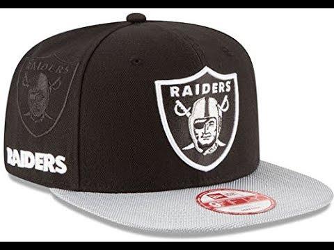 94f0e5fded902 Raiders snapback new era gorras originales mexico - YouTube
