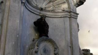 Brussels faces Manneken Pis