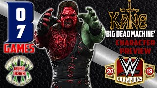 WWE CHAMPIONS - KANE 'Big Dead Machine - Character Preview LIVE STREAM