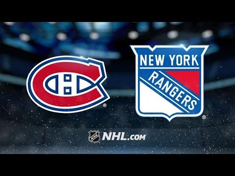 Montreal Canadiens Vs. New York Rangers | NHL Game Recap | October 8, 2017 | HD