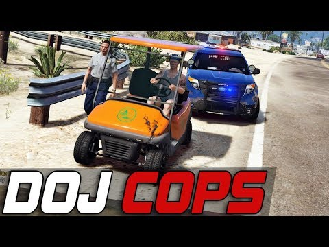 Thumbnail: Dept. of Justice Cops #352 - Golf Kart Trouble (Criminal)