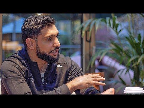 Amir Khan EXCLUSIVE PREDICTION Deontay Wilder vs Tyson Fury