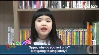 Kim Hyun Joong Interviewed by Children (Eng Sub)