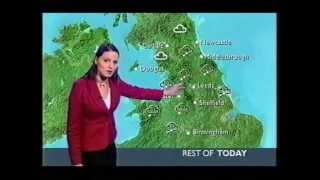 Repeat youtube video BBC Weather 2nd March 2005: Snow in places