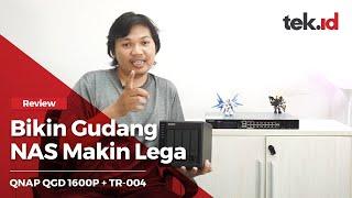 Review QNAP QGD 1600P + TR-004 Indonesia
