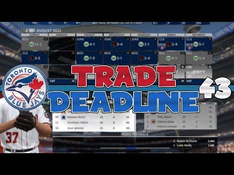 ROSTER CHANGING TRADE DEADLINE! HUGE MOVE! | MLB The Show 18 Toronto Blue Jays OSFM Franchise Ep. 43