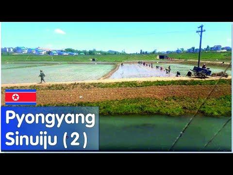 PYONGYANG/SINUIJU Train (June 2017) - PART 2