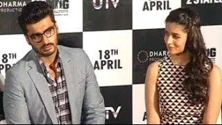 Alia Bhatt, Arjun Kapoor launch 2 States trailer