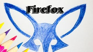 How to Drawing Firefox Logo - Firefox Mobile Gets a Logo - SLD